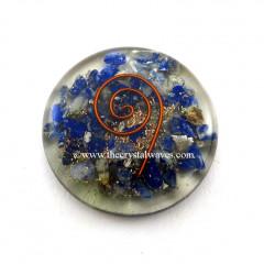 Lapis Lazuli  Orgone Round Cabochon