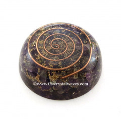 Amethyst Orgone Dome / Paper Weight