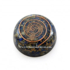 Lapis Lazuli Orgone Dome / Paper Weight