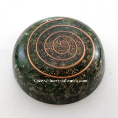 Green Aventurine Orgone Dome / Paper Weight