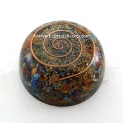 Chakra Orgone Dome / Paper Weight