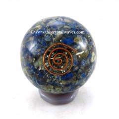 Lapis Lazuli Orgone Ball / Sphere