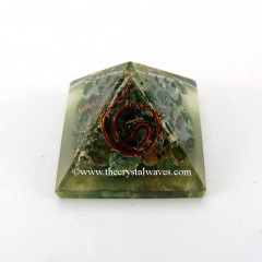 Green Aventurine Small Orgone Pyramid
