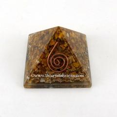 Yellow Aventurine Orgone Pyramid