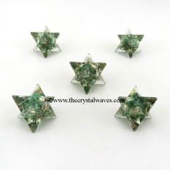 Green Aventurine Orgone Merkaba / Star