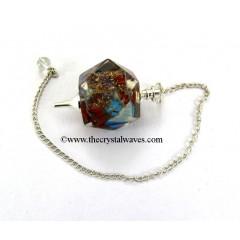 Chakra Hexagon Orgone Pendulum