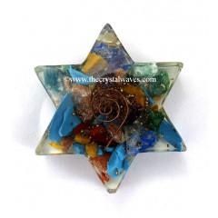 Chakra Orgone Star