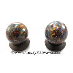 Chakra Chips Orgone Ball / Sphere
