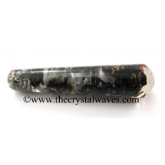 Black Tourmaline & Selenite Orgone Smooth Massage Wand