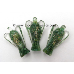 "Green Aventurine 3"" Orgone Angels"