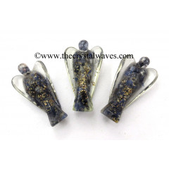 "Blue Aventurine 3"" Orgone Angels"