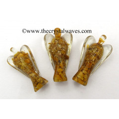 "Yellow Aventurine 3"" Orgone Angels"