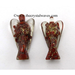 "Red Jasper 3"" Orgone Angels"