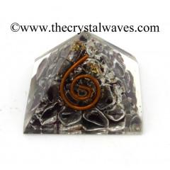 Garnet Chips Orgone Small Baby Pyramids
