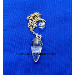 Crystal Quartz Good Quality Smooth Pendulumn