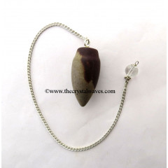 Narmada River Stone Smooth Pendulum