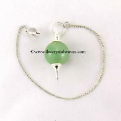 Green Aventurine  Round Pendulum