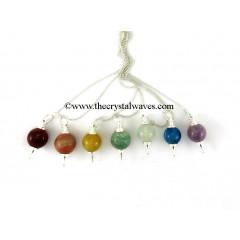 Round Pendulum Chakra Set