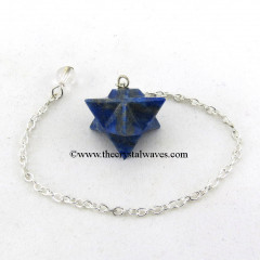 Lapis Lazuli Merkaba / Star Pendulum