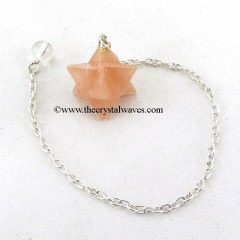 Rose Quartz Merkaba / Star Pendulum