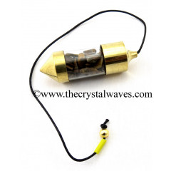 Tiger Eye Agate Chips Bottle Pendulum