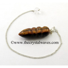 Yellow Tiger Eye Agate Egyptian Style Pendulum