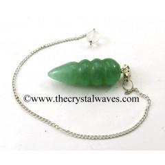 Green Aventurine Egyptian Style Pendulum
