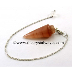 Peach Moonstone Smooth Pendulum