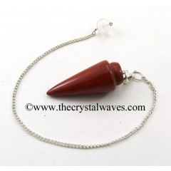 Red Jasper Smooth Pendulum
