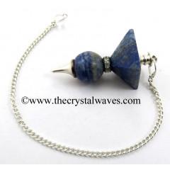 Lapis Lazuli 2 Pc Pyramid Ball Pendulum