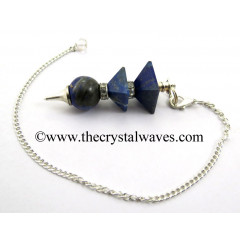 Lapis Lazuli 3 Pc Pyramid Ball Pendulum