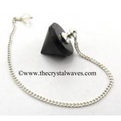 Black Tourmaline Conical Pendulum