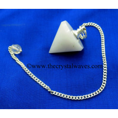 Snow Quartz Conical Pendulum