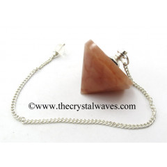 Peach Moonstone Conical Pendulum