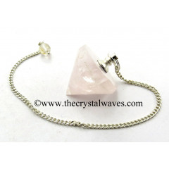 Rose Quartz Conical Pendulum