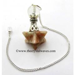 Sunstone Merkaba 2 Pc Pendulum