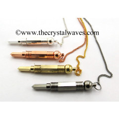 Mix Assorted Finsh 3 Pc Metal Pendulum