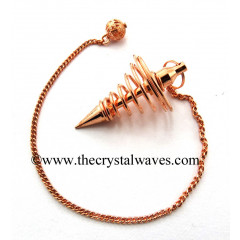 Metal Pendulum Style 9 Copper Finish