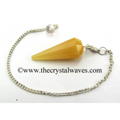 Yellow Aventurine 12 Facets Pendulum