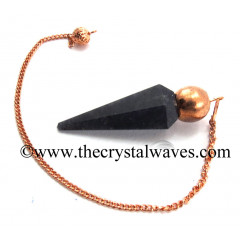Blue Aventurine Faceted Copper Modular Pendulum