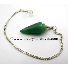 Green Aventurine (Dark) Smooth Pendulum