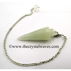 Prasiolite Smooth Pendulum