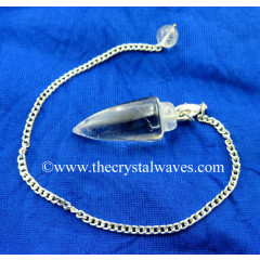Crystal Quartz AA Grade Smooth Pendulum