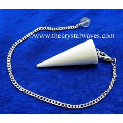 Scolecite Smooth Pendulum