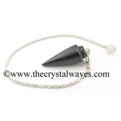 Black Agate Smooth Pendulum