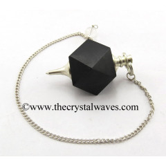 Black Agate Hexagonal Pendulum