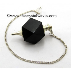 Black Tourmaline Hexagonal Pendulum