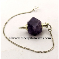 Amethyst Hexagonal Pendulum