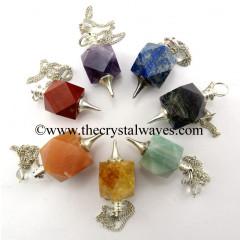 Hexagonal Pendulum Chakra Set