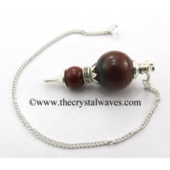 Red Jasper Ball 2 Pc Pendulum